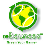 reBounces tennis ball recycling